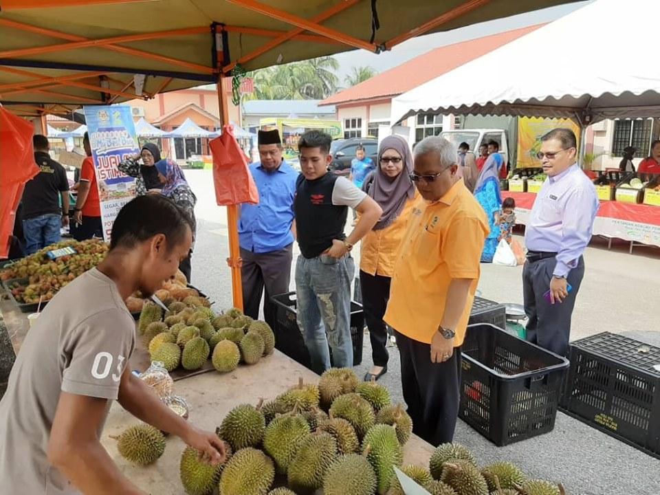 5 Julai 2019 Lawatan kerja Tn Hj Ishak, Pengerusi FAMA ke Program Bazar Peduli Rakyat @ PPK Kampung Pelet,Pulau Pinang